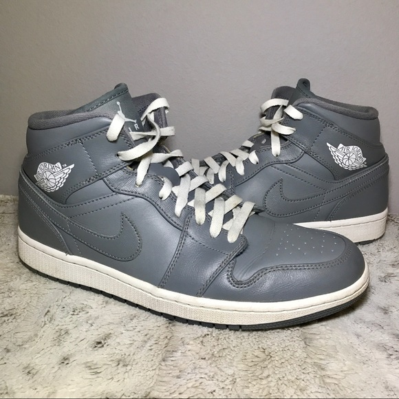 8d511908c339 Jordan Other - 🆕Air Jordan 1 Mid Retro size 10 Cool Grey  White